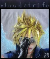 FF7: AC - Cloud Strife by nekomiKasai