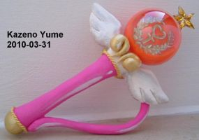 Sailor Venus Henshin stick by Kazeno-Yume