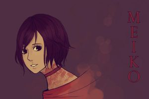 Vocaloids- Meiko by sheepsgobaaa