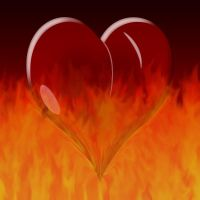 Heart's on fire by rontz