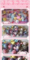Kawaii Cute Frosting Rings by miemie-chan3