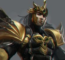[Unfinish] Jarvan IV by zionenciel