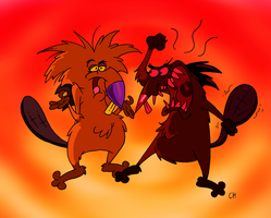 The Angry Beavers by Chopfe