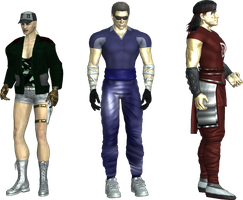 [Request] Earthrealm's trio by Simony17y