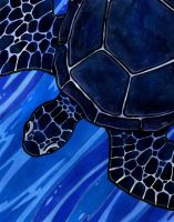 Black Turtle of the North by LadyViridis