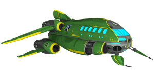 Ratchet and Clank: FFA - Starship Phoenix II by o0DemonBoy0o