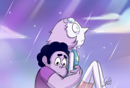 [Steven Universe] I think you're pretty great... by Calista-222