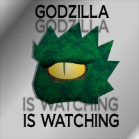Godzilla is Watching by Jay13x