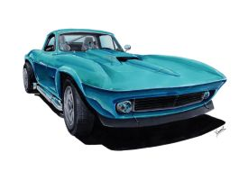 Chevrolet Corvette C2 by vsdesign69