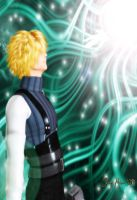 Cloud Revisits The Lifestream by LordFreeza