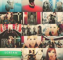2NE1 - Scream by Nobuyuki7