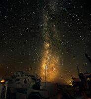 Stars in Afghanistan II by swiftmoonphoto