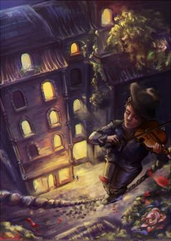 The Fiddler by eirlude