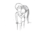 Katniss and Peeta by SuspenderNinja