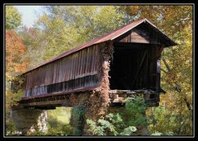 Waldo Covered Bridge by eskimoblueboy