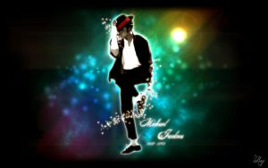 Michael Jackson - 1280 X 800 by darkCARD-Raj