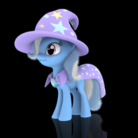 MLP Fluffy - Trixie by VeryOldBrony