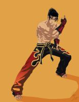 Jin Kazama by phil-cho