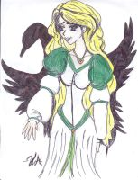 The Swan Princess colored by Vampiress-Stocking