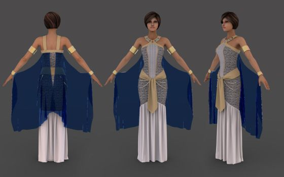 Cleopatra costume by TRIO-3