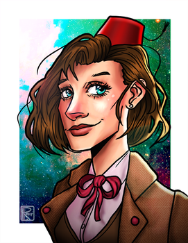 11th Doctor Genderbend by Chrisily
