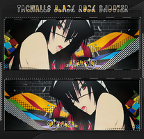 Tagwall#3 - Black Rock Shooter by Opendeal