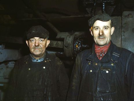 Workers at the roundhouse by makepictures