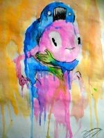 An alex pardee painting by JoyceLee