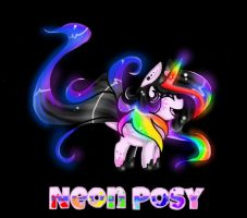 Neon Posy by NekoMellow
