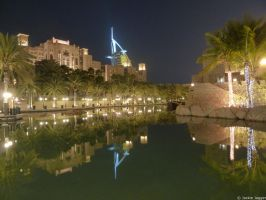 The Madinat and the Burj by jackie89