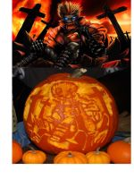 Vash The pumpkin by Animal-and-anime-lvr