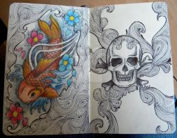 Moleskine Designs 2 by 12KathyLees12
