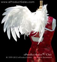 White Feather CHII WINGS 4 costume halloween by eProductSales