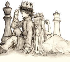 It's all just a game of chess by LittleSakis-Aubade