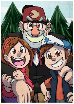 Gravity Falls by forte-girl7