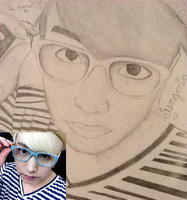 Sketch of Super Junior's Sungmin by LuvYen101