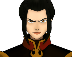 The Legend Of Aang: Azula portrait by DeJakob