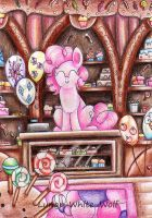 Pinkie pie by Lunar-White-Wolf