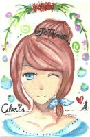Claris - watercolor . by drawwithme15