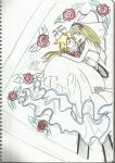 Edward Elric and Winry Elric wedding photo by Yugi-Dan-Yami