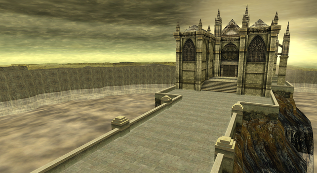 Hulle Granz Cathedral (R2) - .hack//GU by casuallynoted