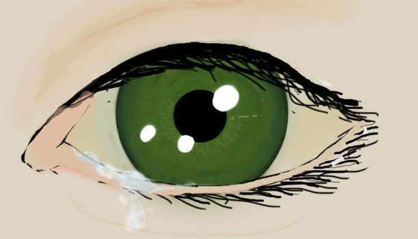 green eye by thewindhaschanged