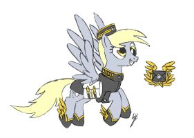 Derpy the Royal Courier by QuirkyWallace