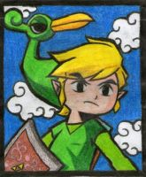 Toon Link by twilightlinkjh