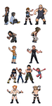 Gotta Pin Em All: WrestleMania by Lizuka