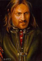 boromir card 209 by charles-hall