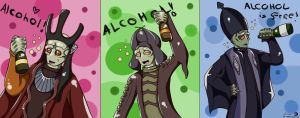 Alcohol is free! by Kweh-chan