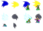 My Future Sonic Sprites by DavidTH90Animations
