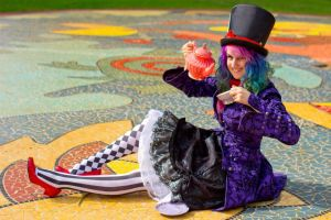 Mad Hatter's Tea Party by becatron