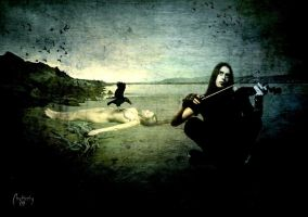 The crow and the violinist by Chatterly